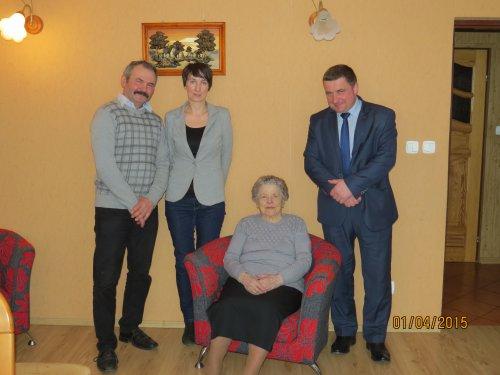 93 urodziny Pani Rozalii Litwińskiej