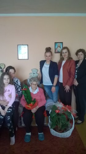 91 urodziny Pani Anny Kozera