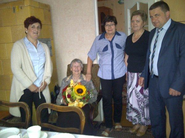 90 urodziny obchodziła Pani Irena Stopa