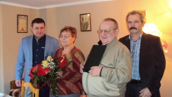 50 - lecie ślubu Państwa Wandy i Antoniego Stosik z Boraszewa