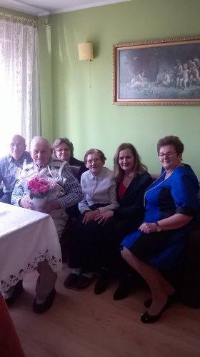 93 urodziny Pana Józefa Drozdowskiego