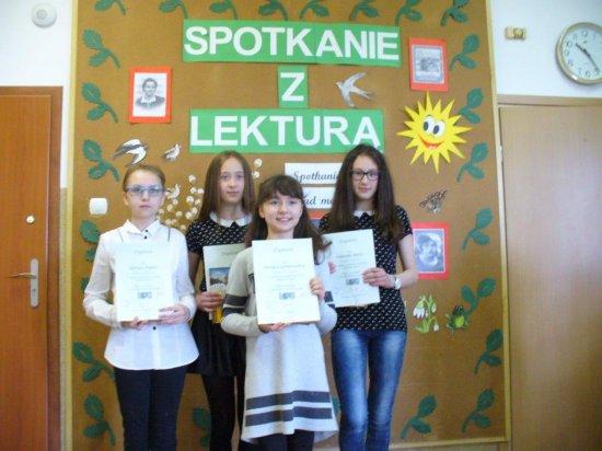 Międzyszkolny konkurs czytelniczy