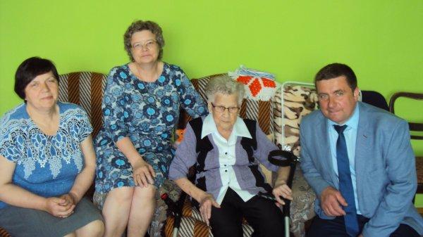 92 urodziny Pani Anny Kozera zWolentala