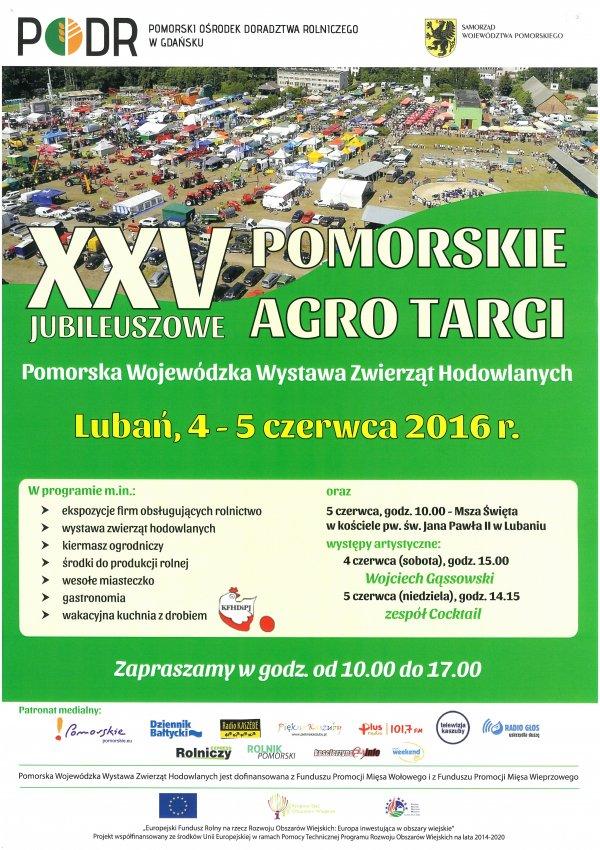 XXV Jubileuszowe Pomorskie Agro Targi Lubań