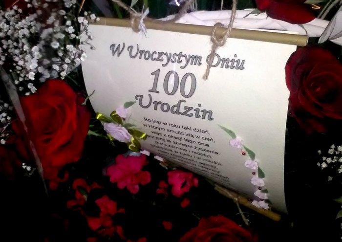 życzenia Urodzinowe Z Okazji 100 Lat Dla Pani Wacławy